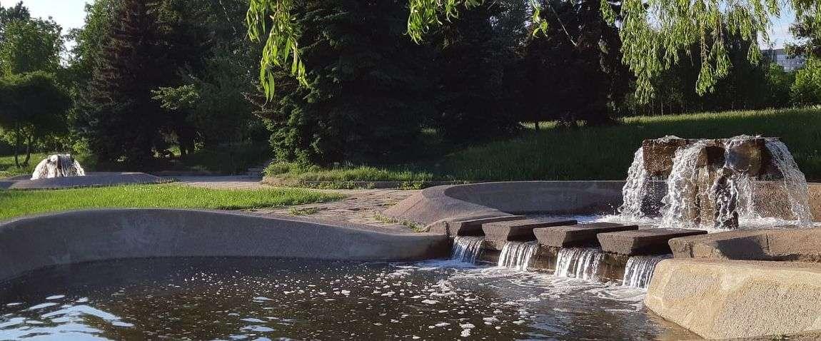 fountain in minsk