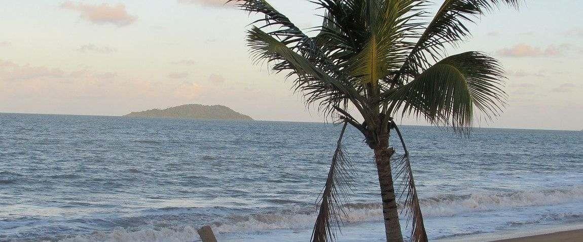 beach in french guiana