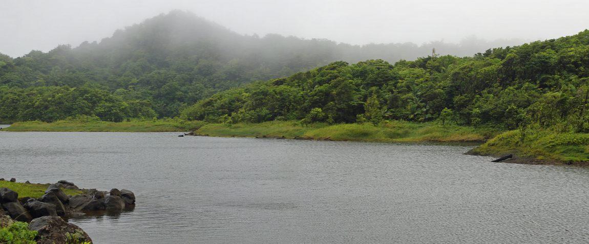 lake in roseau