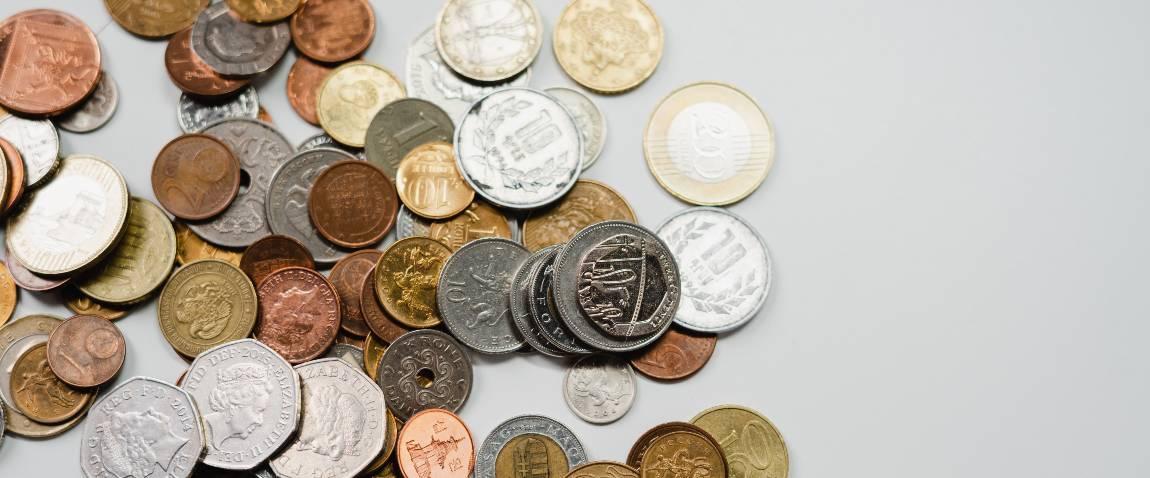 round coins