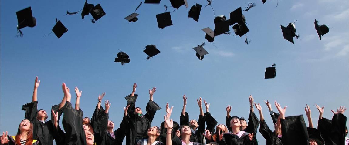 graduated people