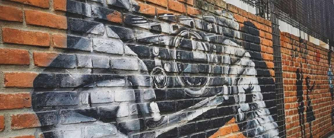graffiti on church street
