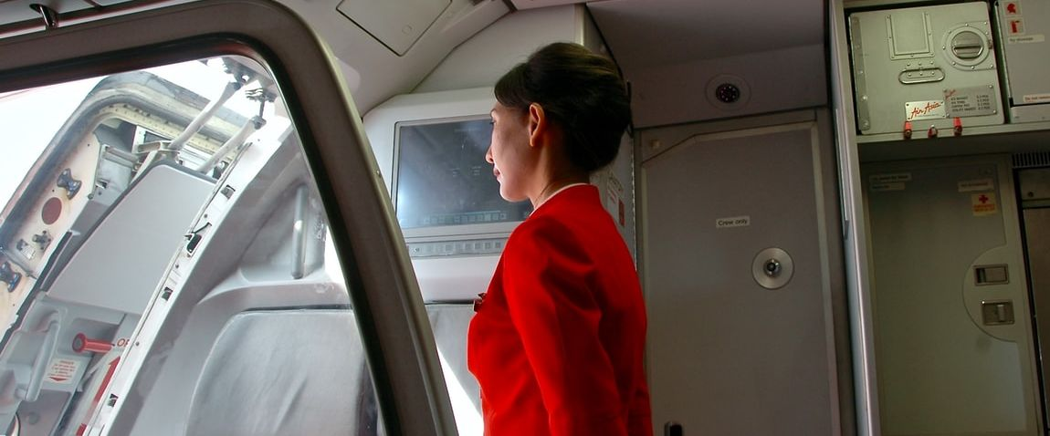 greeting in the plane