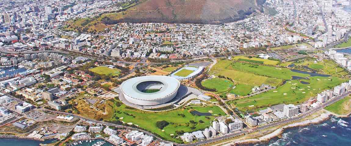 south africa view from helicopter