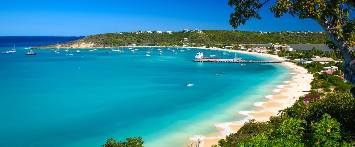 view sandy beach