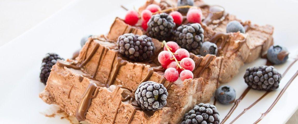 chocolate frozen dessert