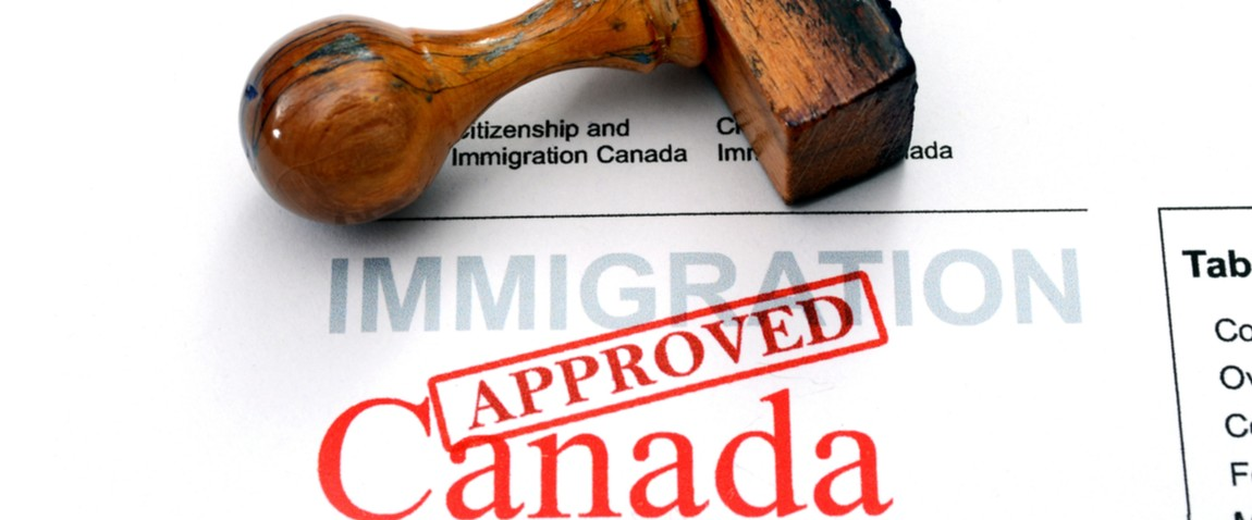 immigration canada approved stamp