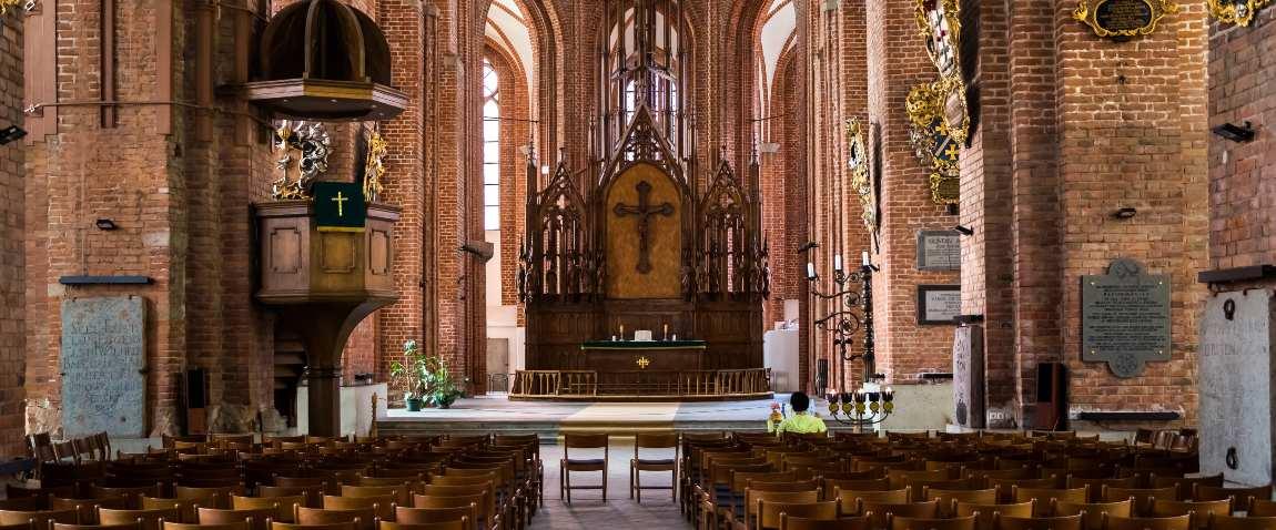 interiorof of st peters church