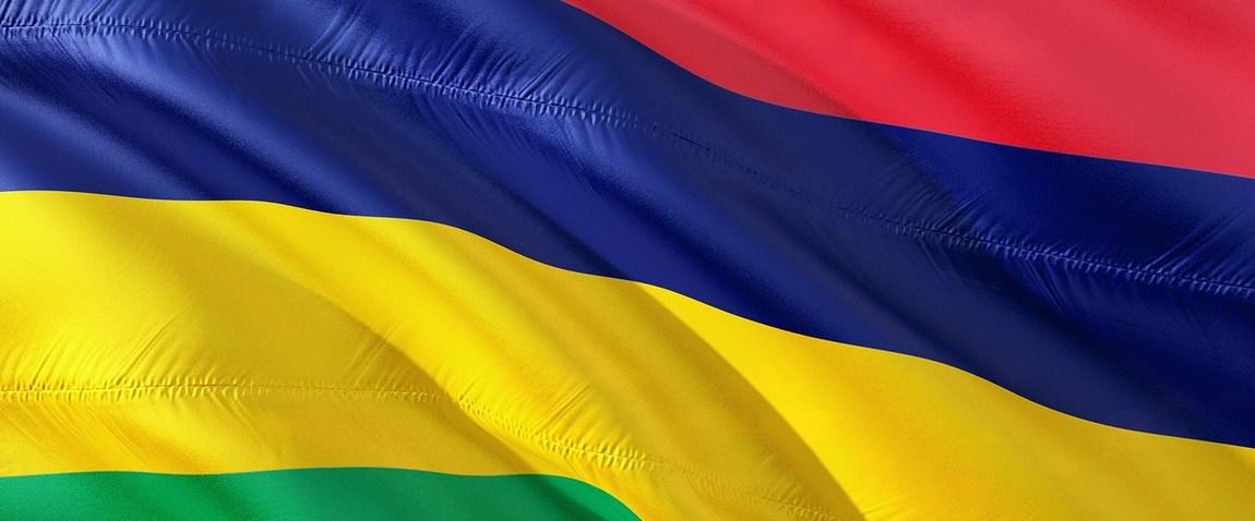 international flag of mauritius