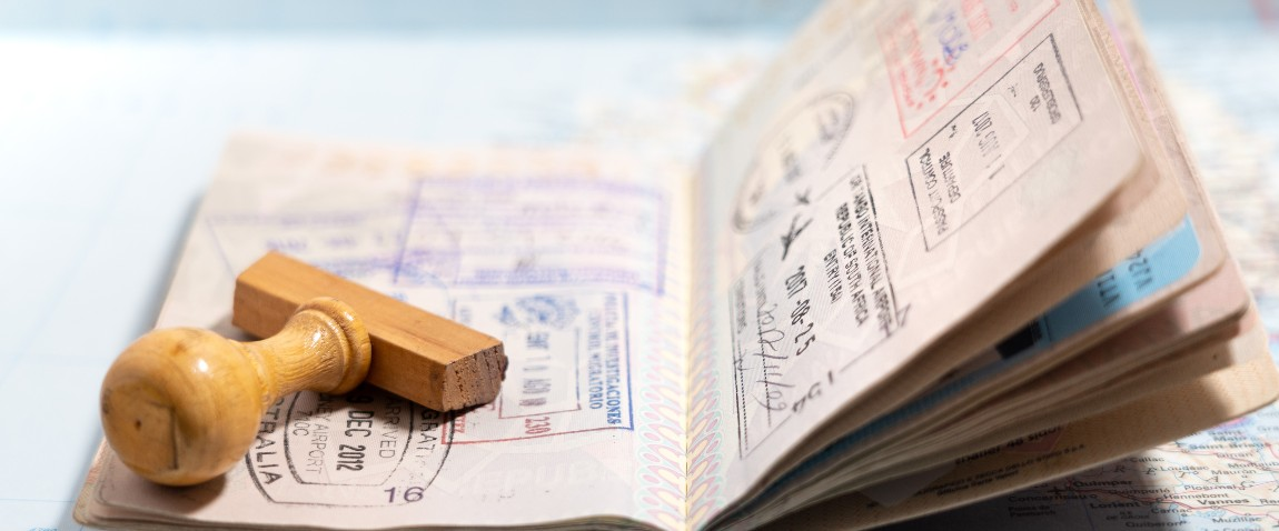 italian passport pages