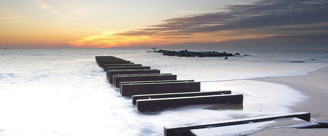 jersey island beach