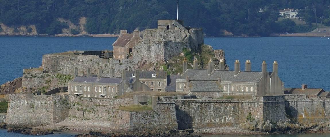 castle in jersey island