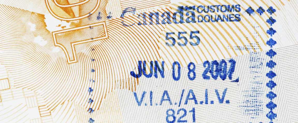 kanada shtamp pasport viza