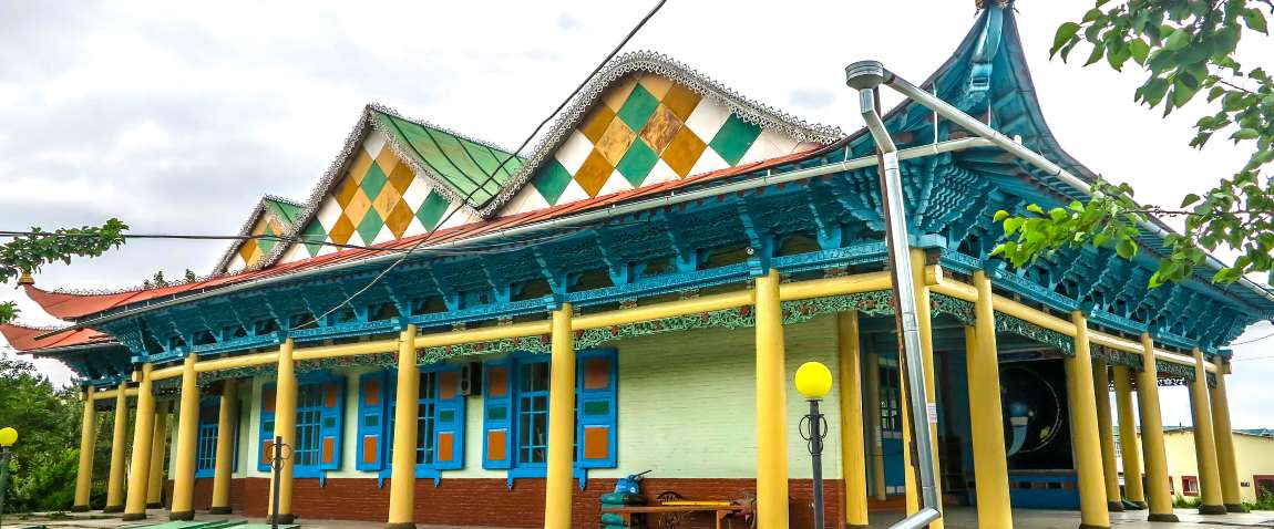karakol dungan mosque