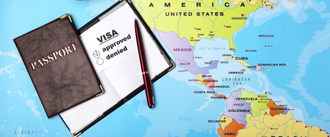 karta amerike