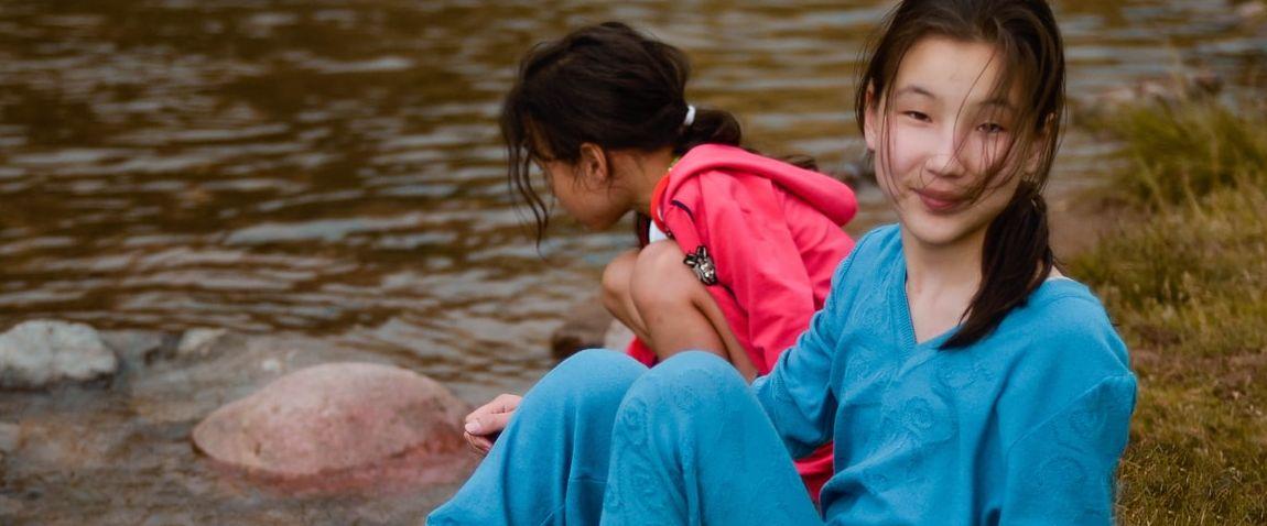 kazakh children
