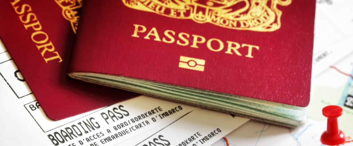 krasnie pasporta na karte