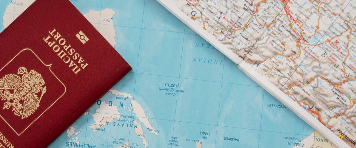 krasniy pasport na karte