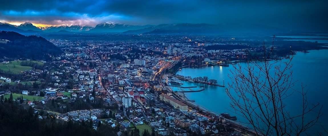lakeside city