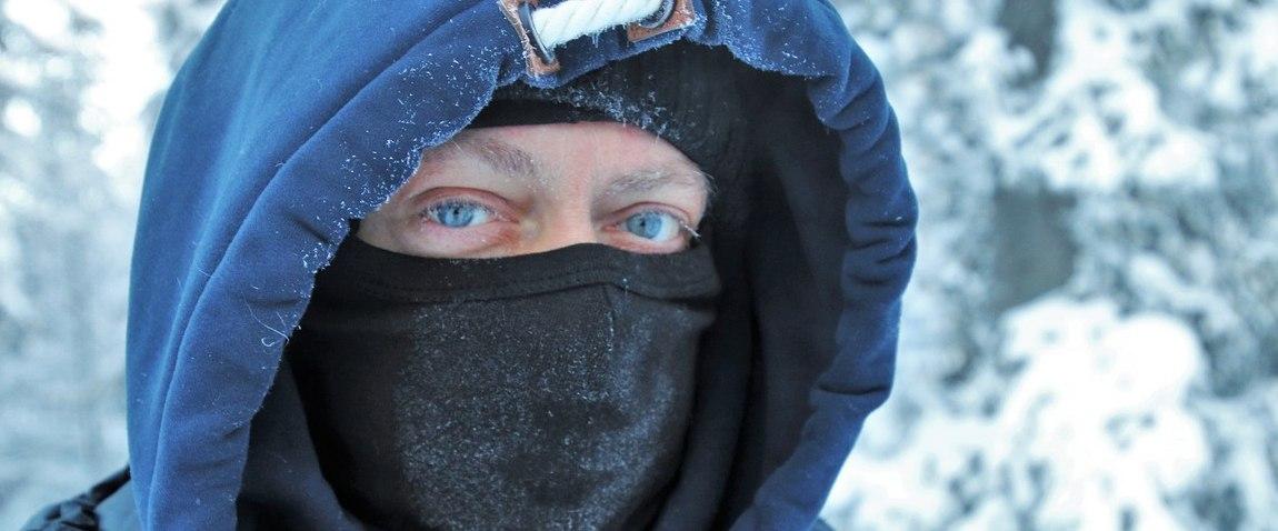 man in Lapland