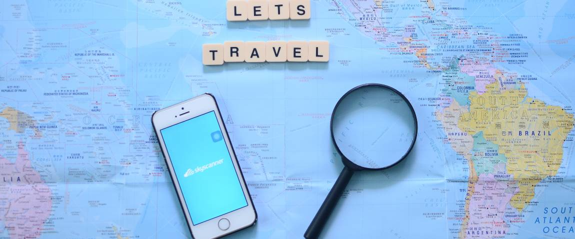 lets travel with skyscanner app