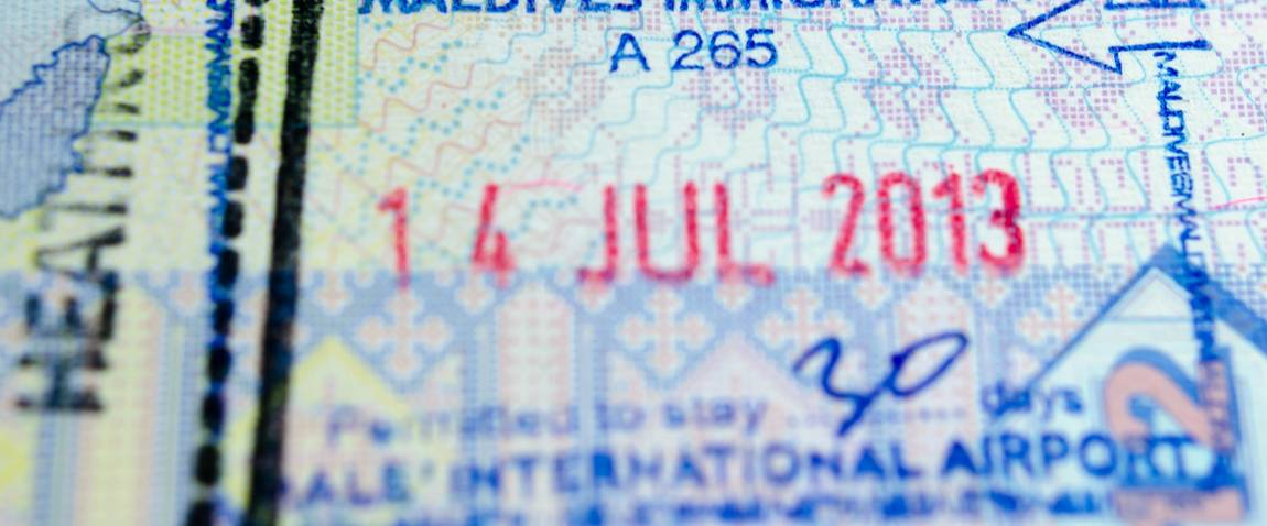 maldives entry visa