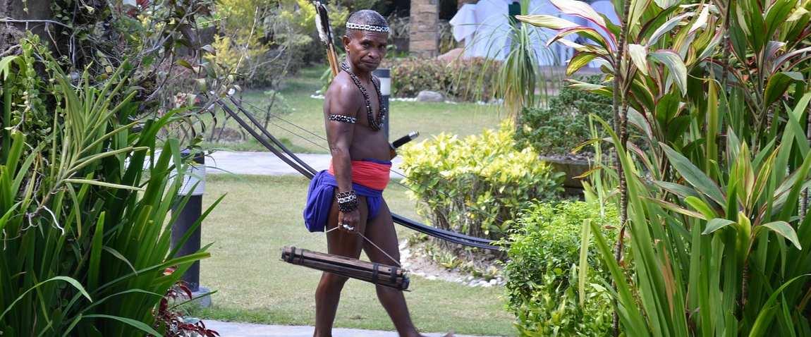 batak tribe man