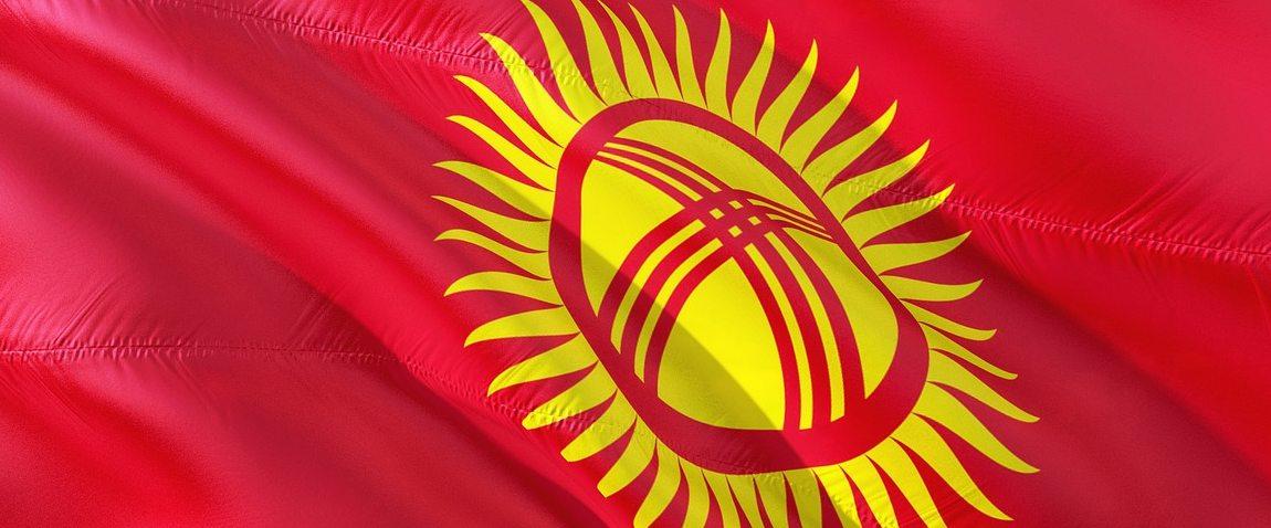 mejdunarodniy flag kirgizstana