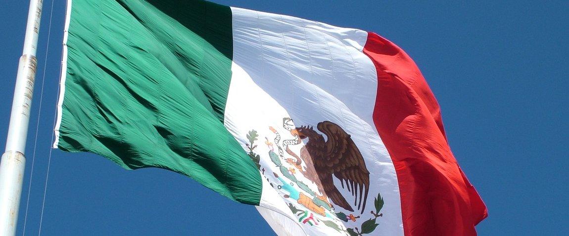 mejdunarodniy flag meksiki
