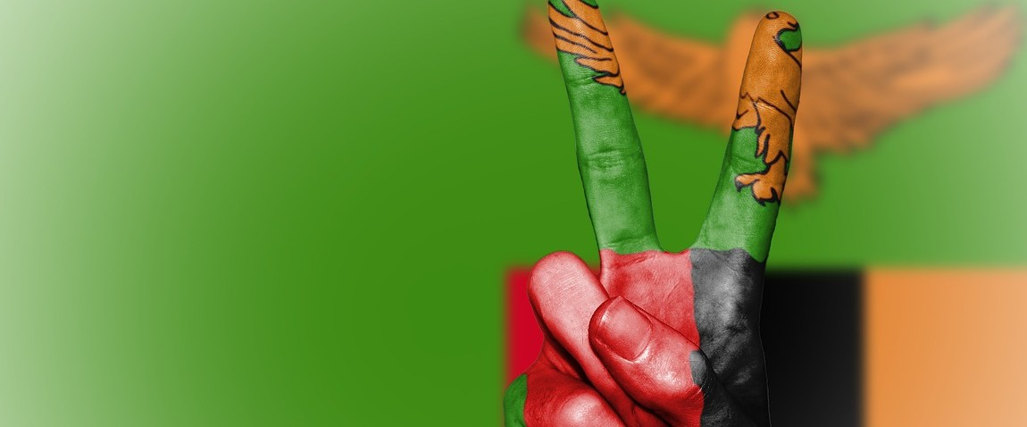 mejdunarodniy flag zambiyi