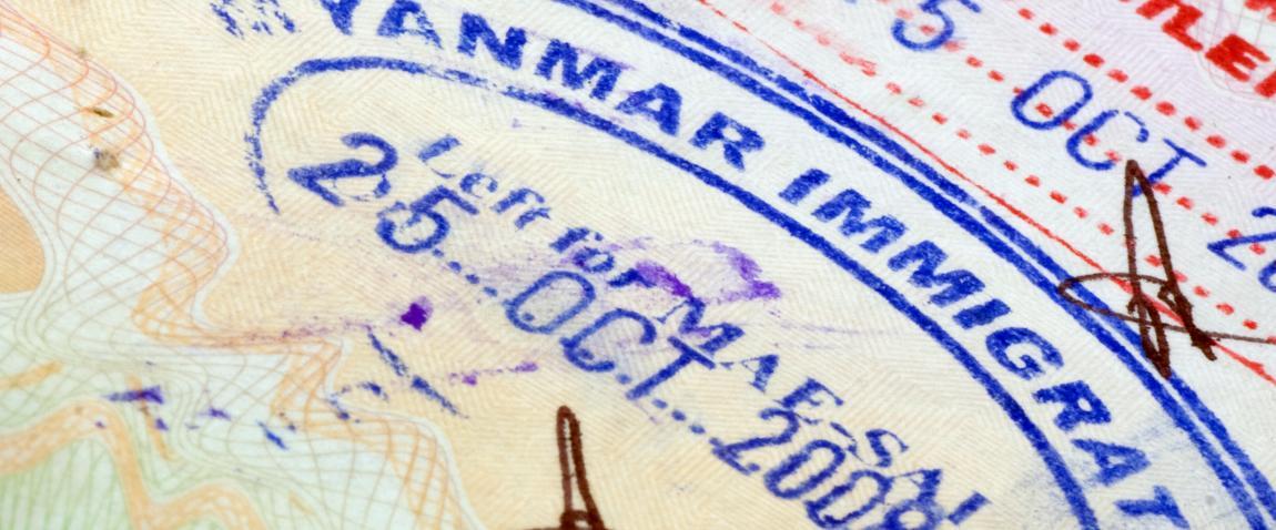 myanmar immigration visa