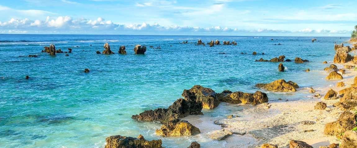 nauru beach