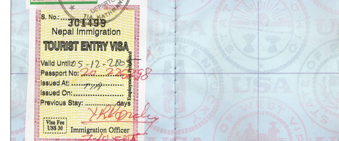 nepal tourist visa