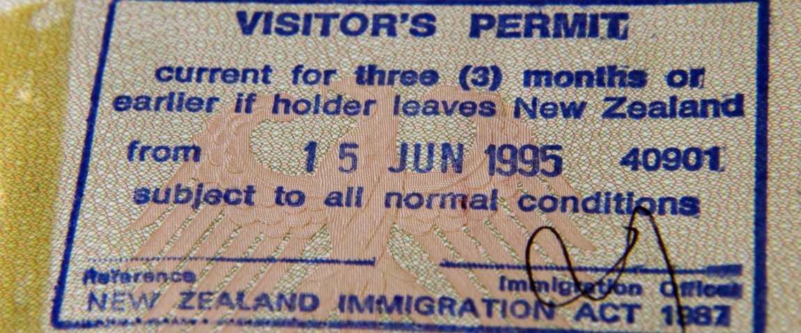 visitor permit
