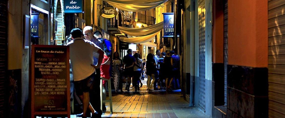 night bars street