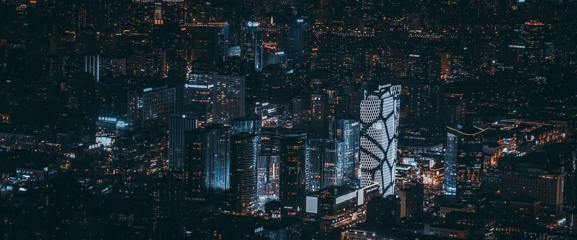 beijing city night view