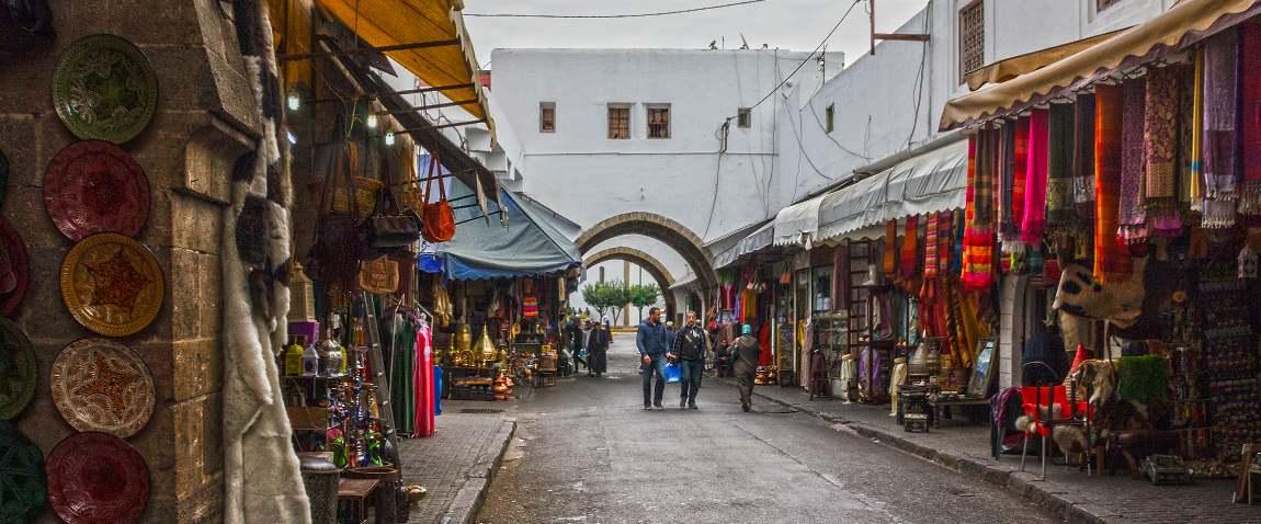 old souvenir market