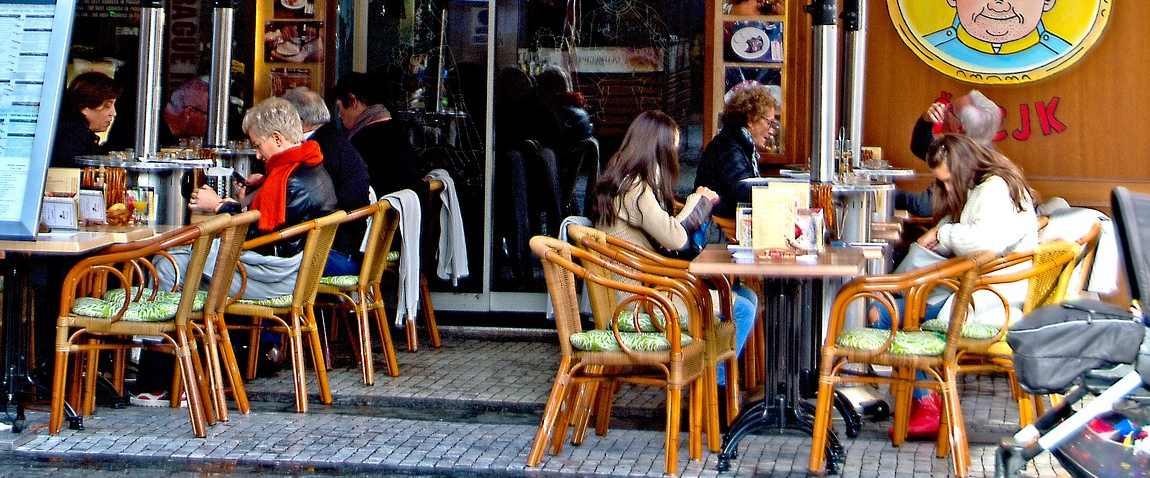 open air cafe