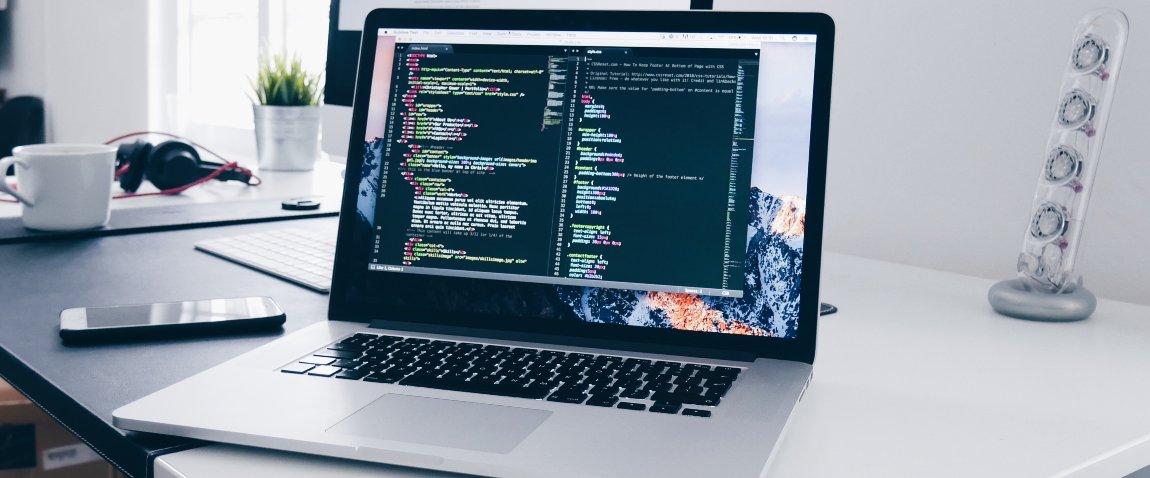 open macbook
