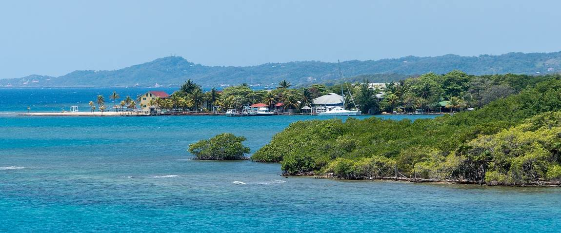 ostrov na karibax