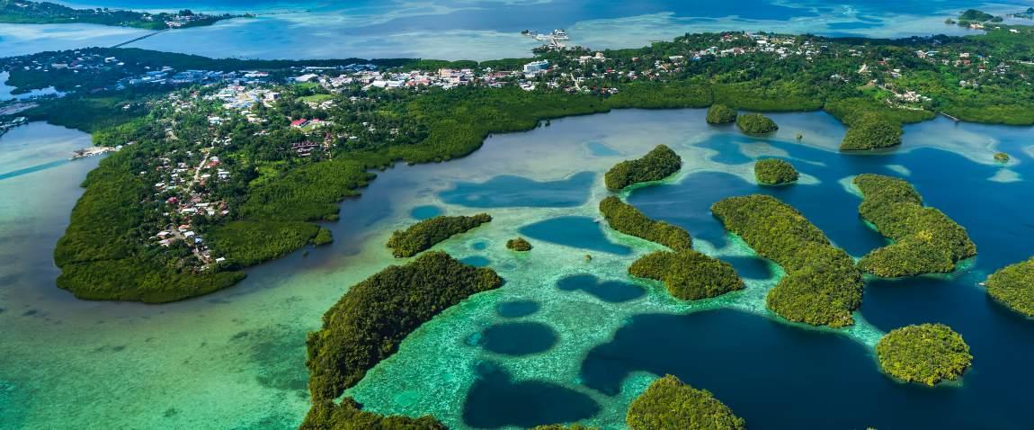 ostrov palau