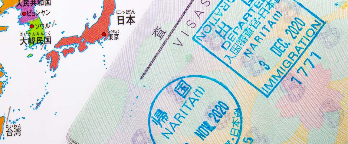 page of passport
