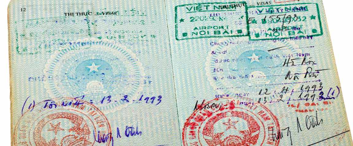pages for visa marks