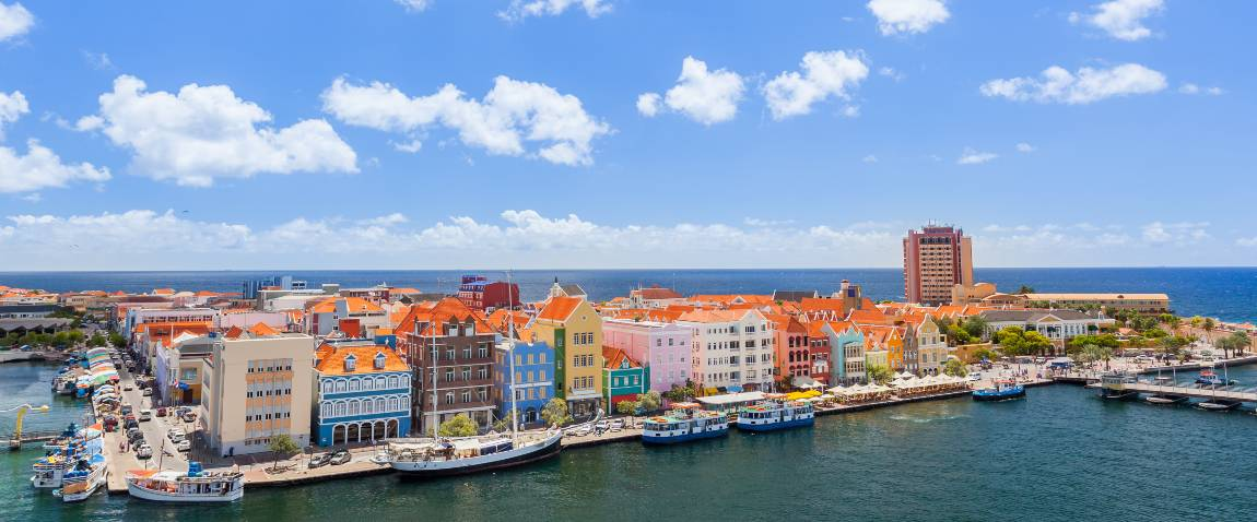 panoramic view of willemstad