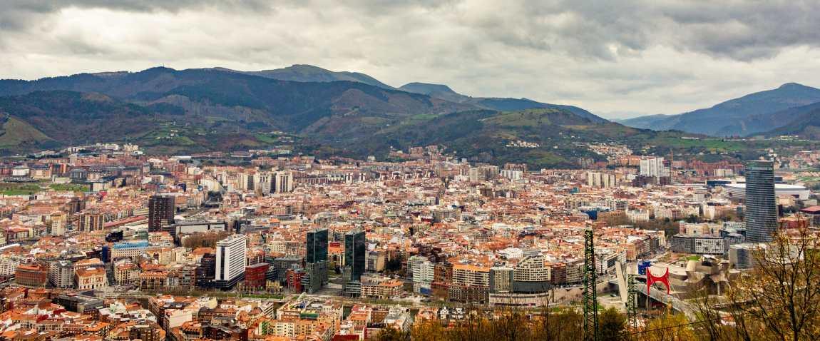 panoramic view from mount artxanda