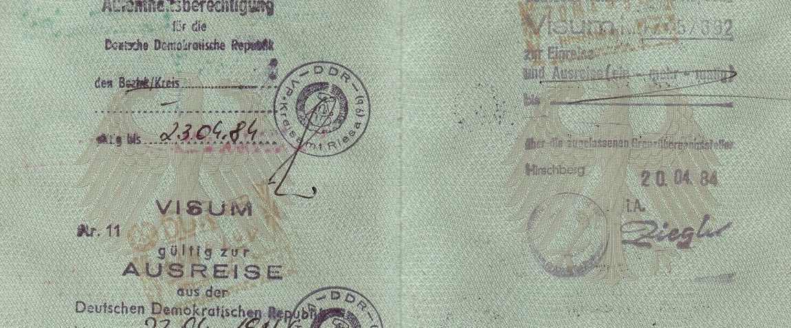 old passport