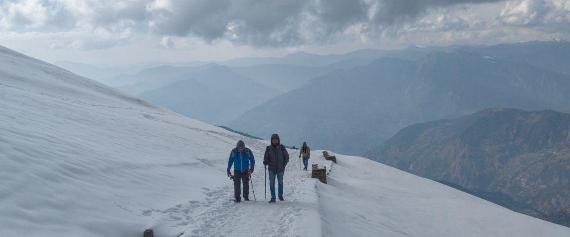 hiking in svalbard and jan mayen