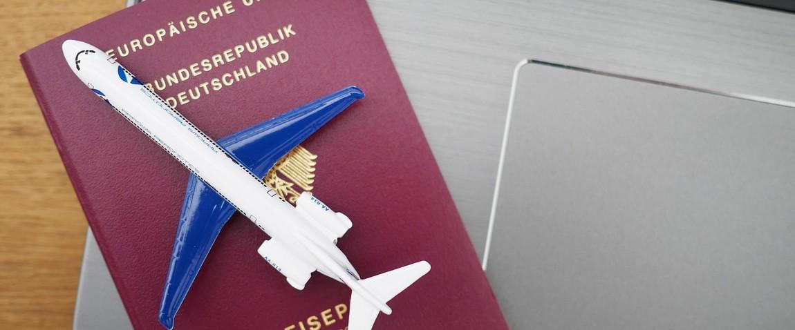 plane and passport