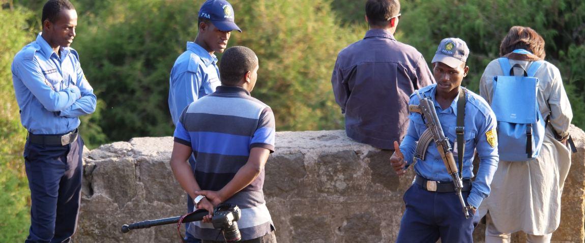 ethiopia policemen