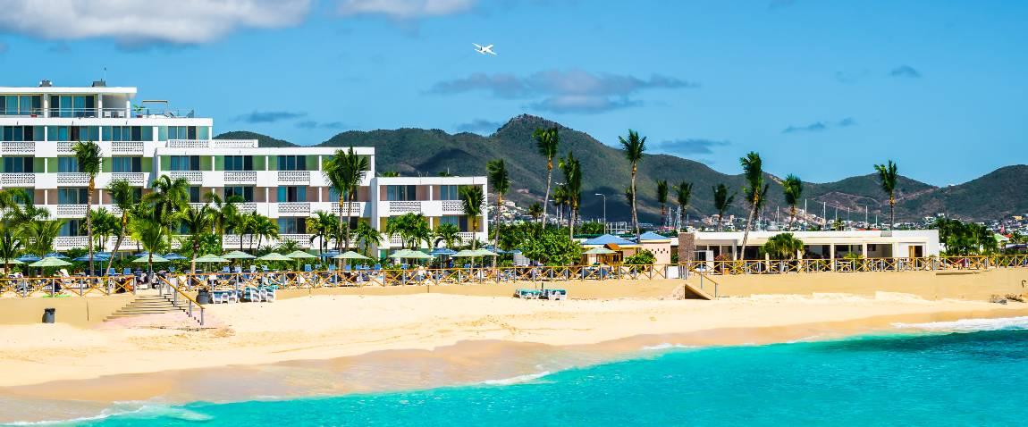 popular beach hotel